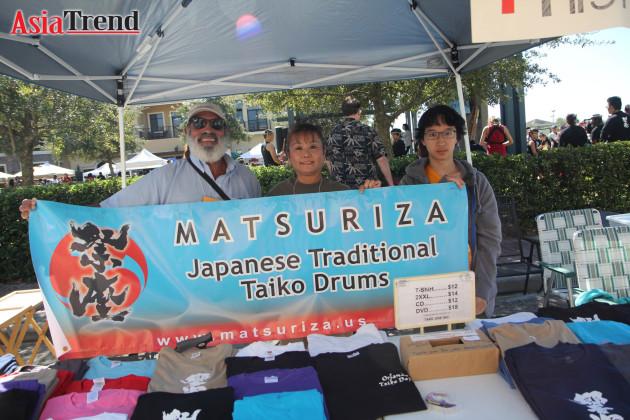 Matsuriza booth