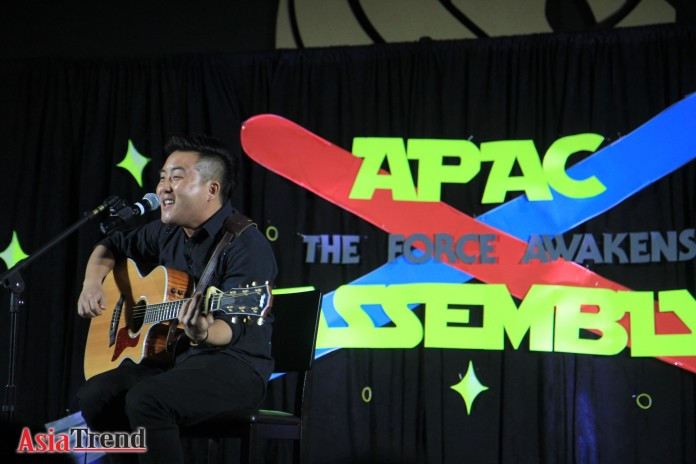 David Choi at the 10th Annual APAC Assembly 2015