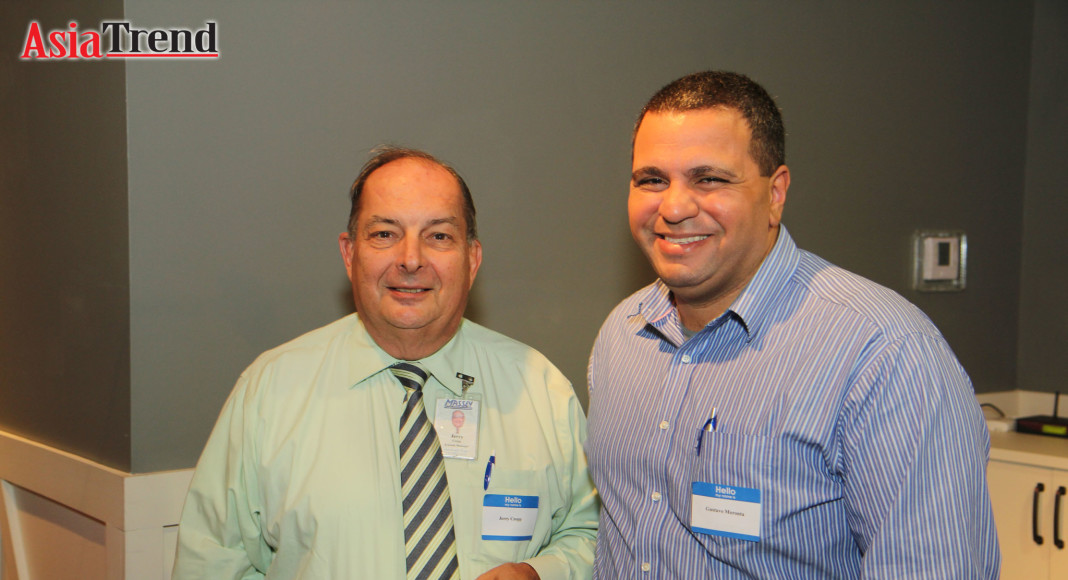 Jerry Czopp and Gustavo Moronta
