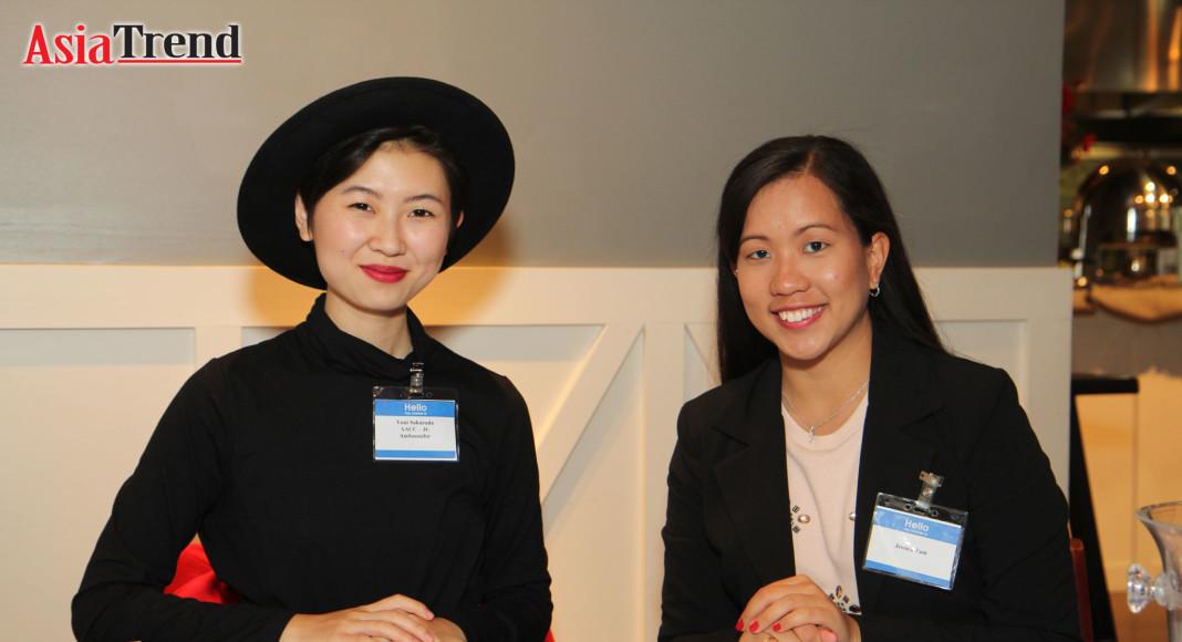 Yuni Sakurada and Jessica Tam