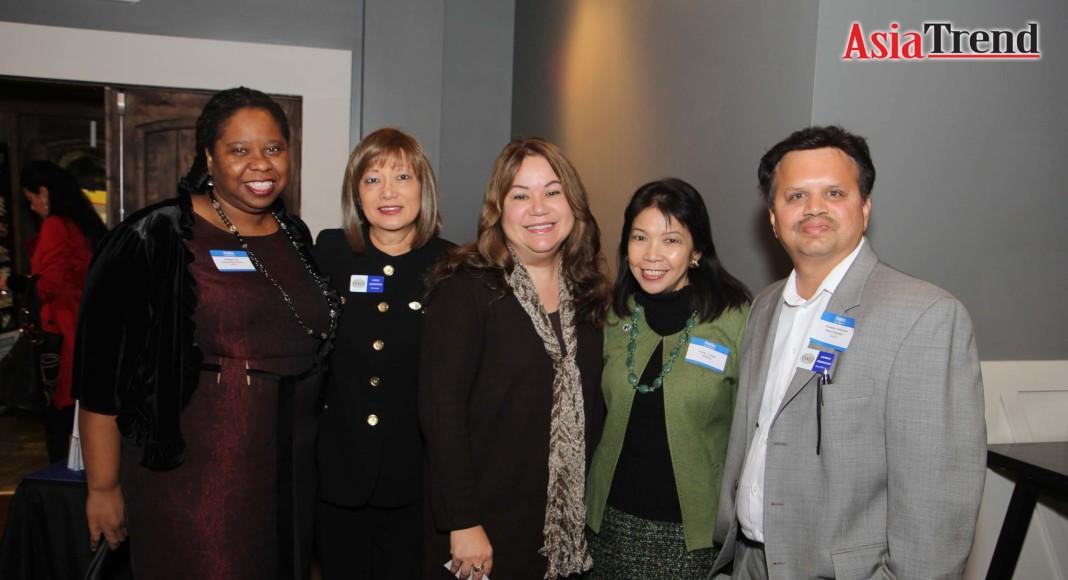 Dr Bridget Lee, Coco Johnston, Marisol Romany, Kathy Llamas, and Kannan Srinivasan