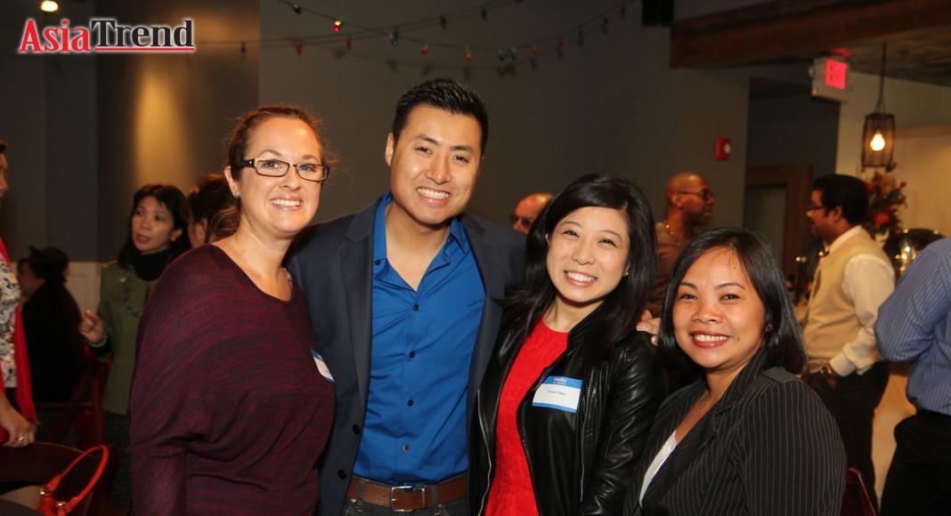 Alexis Daly, Robert Ly, Teresa Chan and Maria Badner
