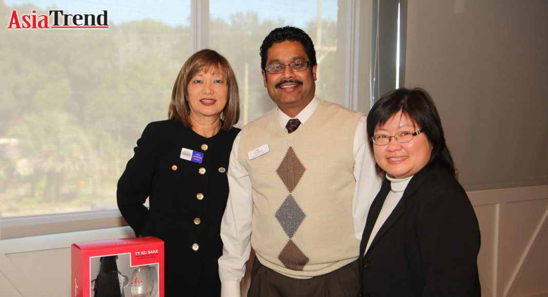 Coco Johnston, Mathew Alfred, and Pauline Ho