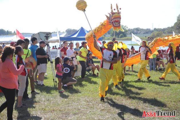 Dragon Dance by SACA Golden Dragon