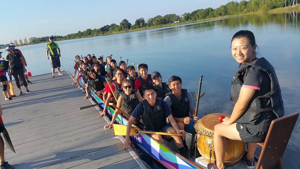 REACH Dragon Boat team