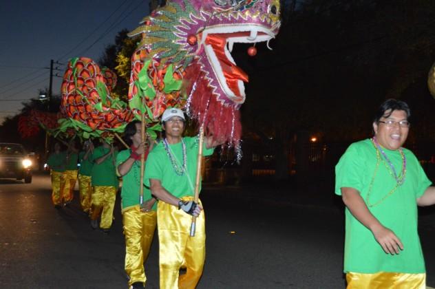 Rough Riders' St. Patrick's night parade