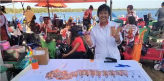 Skin Cancer Screening at Lake Orlando Dragon Boat Festival