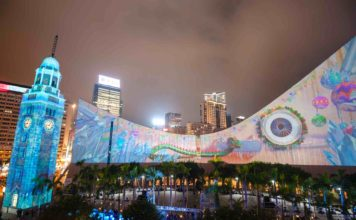 Hong Kong Pulse Light Show