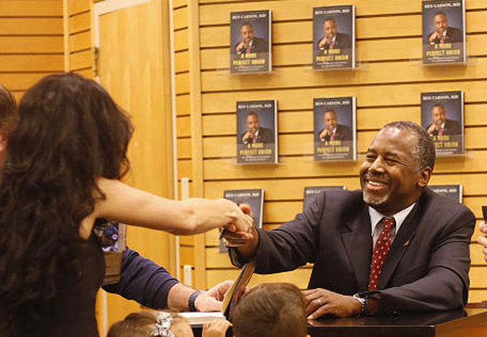 Ben Carson Book Signing in Tampa